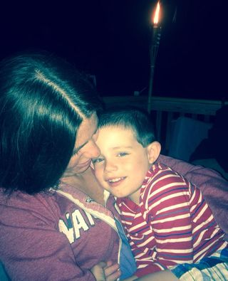 Mason and Mommy
